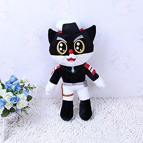 JW Sargento negro / juguete de la felpa / muñeca , m: Amazon.es: Juguetes y juegos