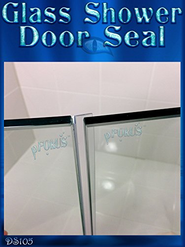 Wipe Sweep Spend $50 or more of pfokus products Get FREE SHIPPING Length 2.49 Meter DS105 Frameless Glass Shower Door Seal 98 Seals 3//16 to 1//4 Gaps