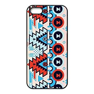 Aztechno Turquoise iPhone 5 5s Cell Phone Case Black DIY GIFT pp001_8149430