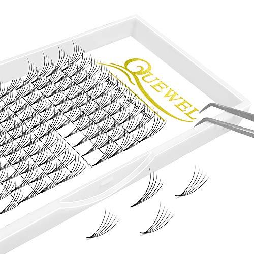 Volume Lash Extensions 5D Thickness 0.10mm C Curl 15mm Short Stem Premade Fans Soft|Optinal 3D|4D|5D|6D|7D|8D Thickness 0.07/0.10 mm C/D Curl 8-18mm Mix-9-16mm Mix-12-15mm|