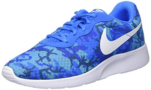 Nike Tanjun Print - Zapatillas de deporte Hombre Azul