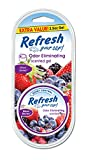 Refresh Your Car! 09916 Scented Gel Can, 2.5 oz, Mixed Berries