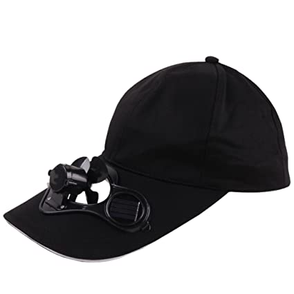 Hongxin Cycling Bike Headband Cap Summer Outdoor Solar Sun Power Hat Cap Cooling Cool Fan For