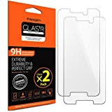 Nexus 5X Screen Protector, Spigen® [Tempered Glass] Most Durable [Easy-Install Wings] Nexus 5x Rounded Edge Glass Screen Protector - Glas.tR SLIM (SGP11815)