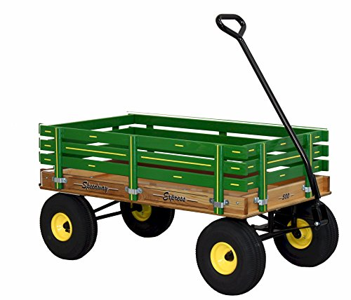 Speedway Express Wagon Model 500 Amish-made Green