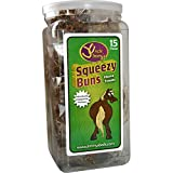 Uncle Jimmys Squeezy Buns Horse Treats 65 Pieces Clear