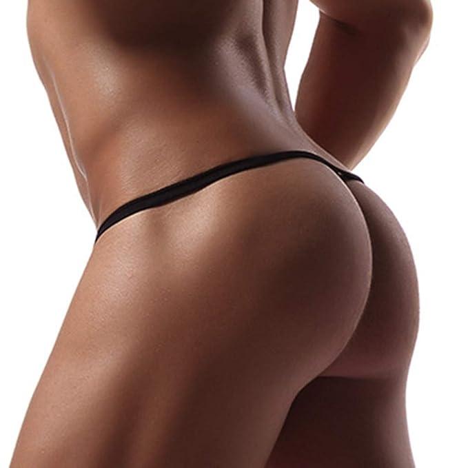 Innerternet-Underwear de Hombre, Moda Sexy Graffiti Imprimir Cintura Baja Tanga Hombre, Lencería erótica Hombre Tanga, Sección Delgada Párrafo Corto Bragas ...