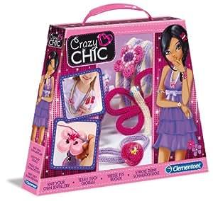 Clementoni 15887 Crazy Chic - Juego de creación de joyas