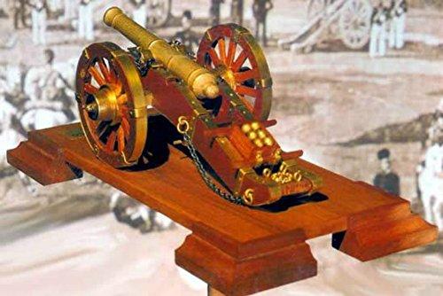 (18th Century Napoleonic Cannon - Model Kit by Mantua )