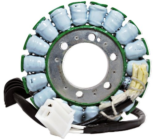 (MOTOPLAT 13016 - Stator Compatible w/Yamaha R6 (2003) YZFR6 (2003) YZF-R6 (2004-2005) R6S (2006, 2008) YFZ-R6S (2007-2008) YZFR6S (09) OEM Repl.#5SL-8140-00-00 - Not Compatible with YZF-R6 (09-16))