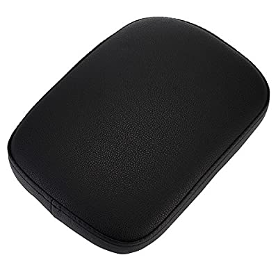 Universal 6 Suction Cup Rectangular Pillion Passenger Pad Seat For Harley Sportster 883 1200 XL 48 72 Fatboy Dyna Softail Chopper Bobber Custom Cafer V-ROD Street Bob Touring Road King Indian: Automotive