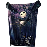 The Nightmare Before Christmas Comfy Blanket with Sleeves...