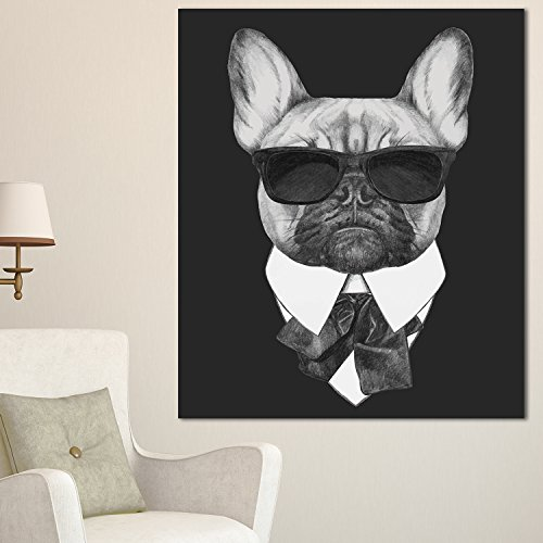 Design Art French Bulldog Fashion Portrait Animal
