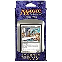 Magic the Gathering (MTG) Journey Into Nyx Intro Pack / Theme Deck - Mortals of Myth - White (Includes 2 Booster Packs)