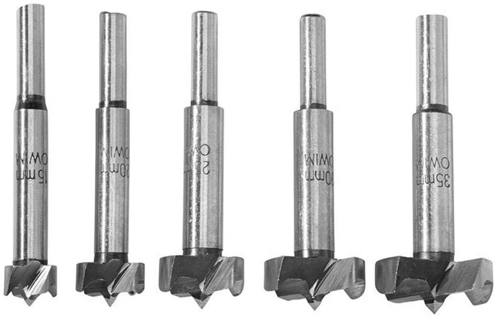 Silverline Forstner Bit Set 7pce 12-35mm DIY Power Tool Accessories