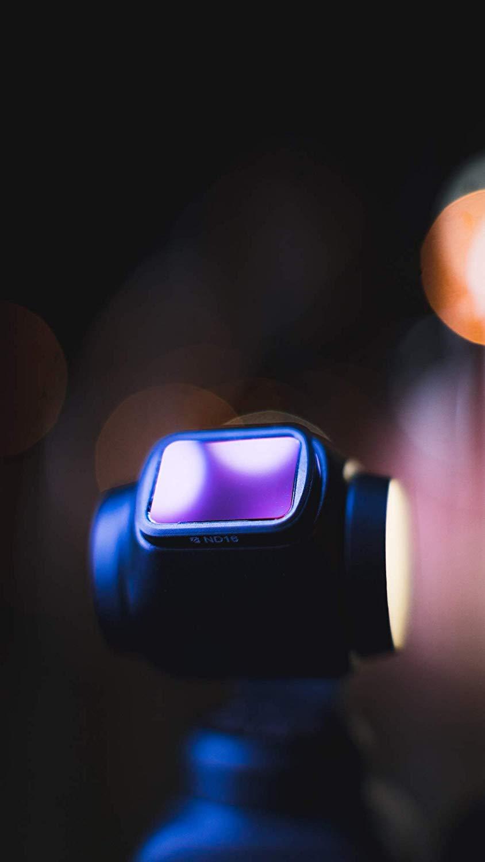 Freewell de densit/é Neutre ND4 Filtre dobjectif dappareil Photo Compatible avec DJI Osmo Pocket