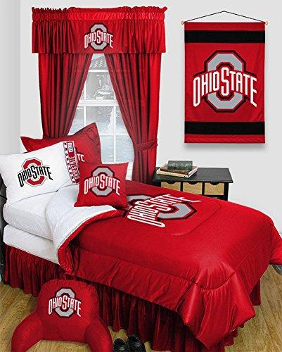 Ohio State University Comforter (Ohio State University Buckeyes Dorm Bedding Comforter Set (Full))