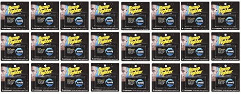Bump Fighter Refill Cartridge Blades 5 Ct. Each (24 pack) + FREE Travel Toothbrush, Color May Vary by Bump Fighter