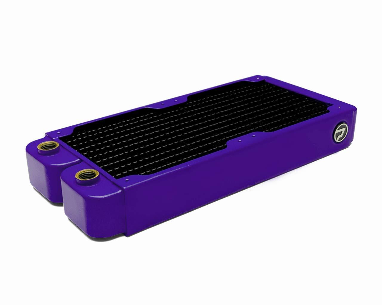 PrimoChill 240mm EximoSX Ultra Radiator - TX Matte Purple by PrimoChill