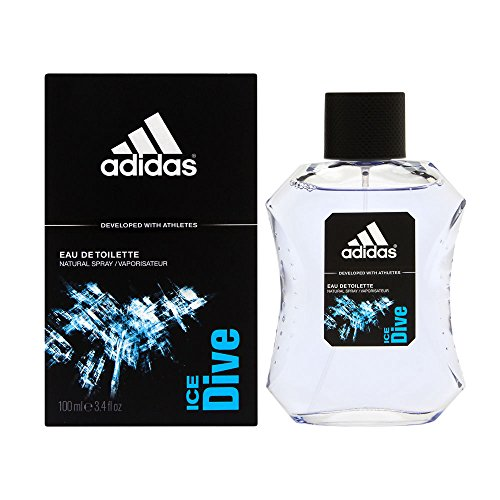Adidas Ice Dive by Coty for Men 3.4 oz Eau de Toilette Spray (Best Fragrance For Young Man)