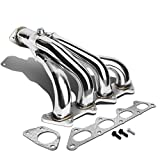 exhaust for mitsubishi eclipse - For Mitsubishi Eclipse 4-1 Design Stainless Steel Exhaust Header Kit - 2.4L I4