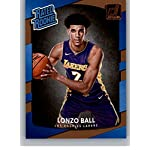 0c4b8ac5f5b 2017-18 Donruss  199 Lonzo Ball RC Rookie Lakers Rated Rookie. Donruss.   5.99. Autographed Signed Lonzo Ball Los Angeles LA Yellow Basketball Jersey  ...