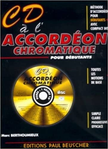 Partition : CD a l'accordeon chromatique M. Berthoumieux