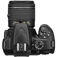 Nikon D3400 Digital SLR Camera & 18-55mm VR & 70-300mm DX AF-P Lenses - (Certified Refurbished) by Nikon