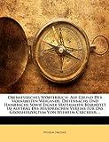 Oberhessisches Wörterbuch, Wilhelm Crecelius, 1144452465