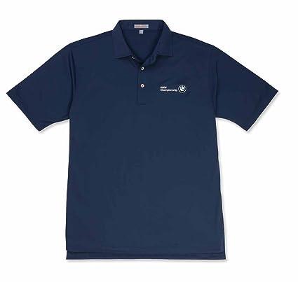 844da11b2 Men's Peter Millar Solid Summer Comfort Stretch Shirt Midnight Mediumall
