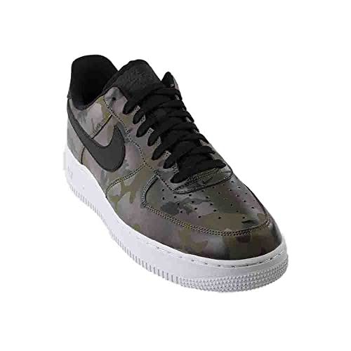 new styles 17c9a 3d9c9 Nike Mens Air Force 1  07 Low Camo Shoes Medium Olive Baroque Brown Sequoia Black  823511-201 Size 9.5  Buy Online at Low Prices in India - Amazon.in