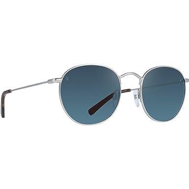 f8b2d5edd8 Image Unavailable. Image not available for. Color  RAEN Optics Unisex Benson  Silver Matte Rootbeer Sunglasses