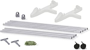 EarthBox 81082.04, White, 7 ft. Staking System, 7-Foot