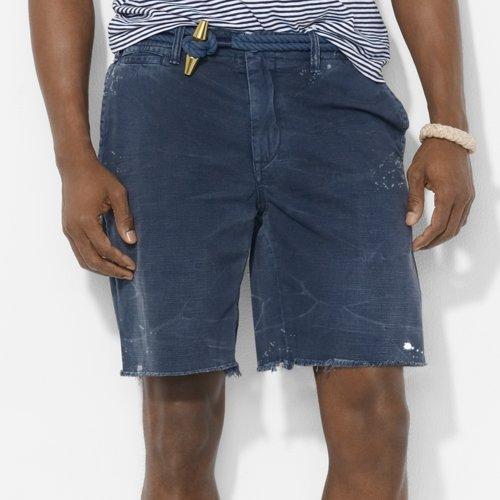 Polo Ralph Lauren Men's Maritime Chino Shorts, Navy, 28