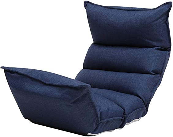 ZHLJ Casual Lazy Couch Multicolor Single Fabric Chair Bean