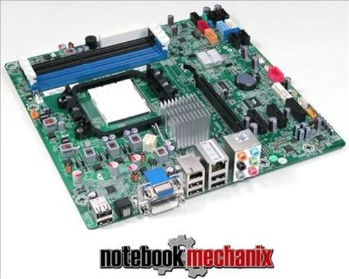 537376-001 HP Compaq Motherboard Elite E9000 Desktop Aloe Amd H-Rs880-Uatx: 1.01