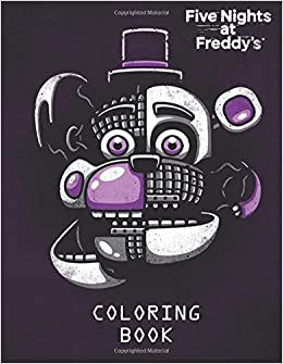 amazoncom five nights at freddys coloring book for kids and adults 40 illustrations 9781979258807 sergey tolmachev books - Fnaf Coloring Book
