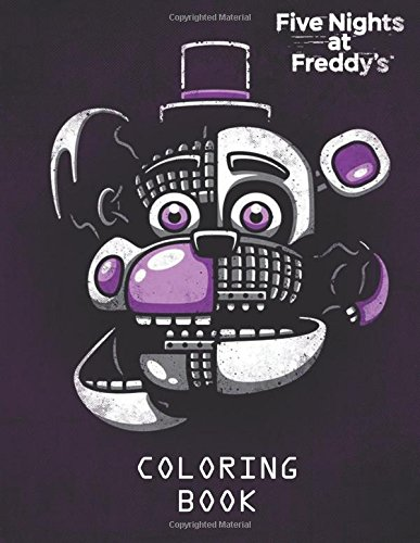 Amazon Com Five Nights At Freddy S Coloring Book For Kids And
