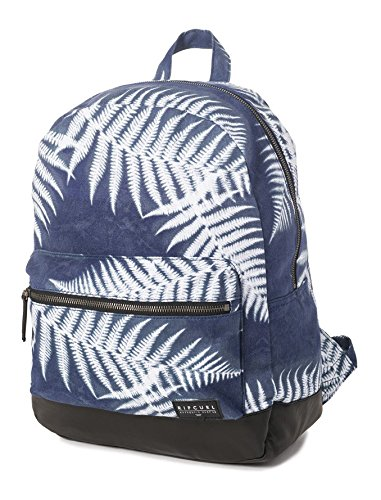 Rip Curl Westwind Canvas Dome Mochila Tipo Casual, 42 cm, 17 Liters, Azul