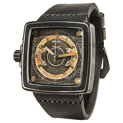 Welder Reloj cronógrafo para Unisex de Cuarzo con Correa en Piel K46 4009