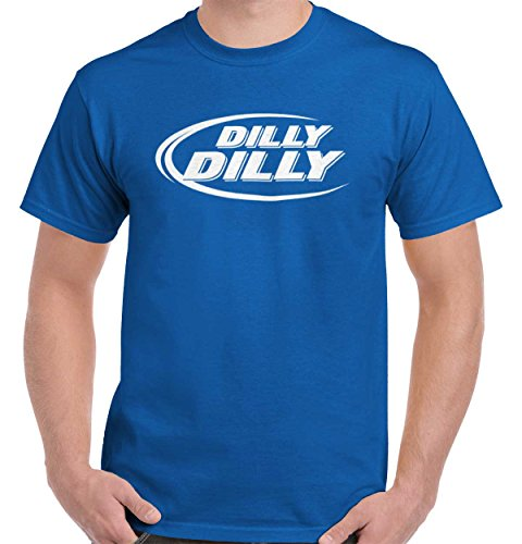 Brisco Brands Dilly Dilly Bud Budweiser Funny Cool Gift Edgy Sarcastic Cute T Shirt Tee