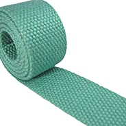 "1 Yard Cotton Webbing - 1 1/4"" Medium Heavy Weight - 33 Colors to C"