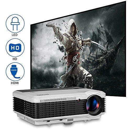 EUG LCD LED Multimedia HD Video Projector 3600 Lumens 128...