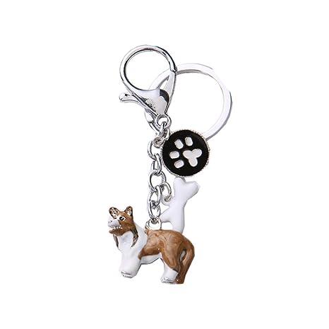 BbearT® - Llavero de Perro con identificación de Perro ...