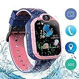Best Tracker Watch For Kids - bohongde Kids Waterproof Smart Watch Phone,Smartwatch for Children's Review