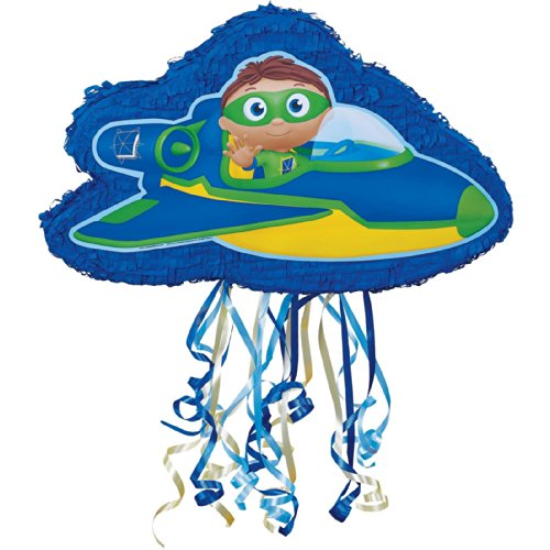 Super Why Party Supplies - Pull-String Pinata