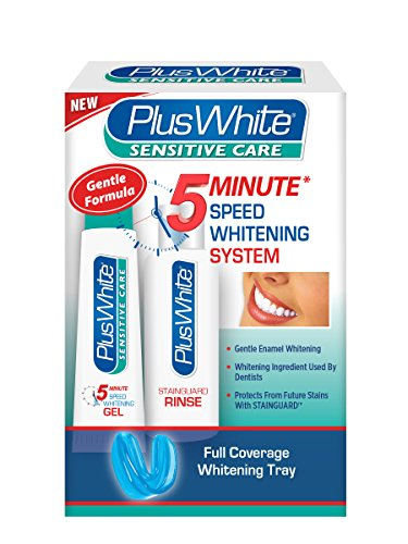 (Plus White 5 Minute Sensitive Care Speed Whitening System)