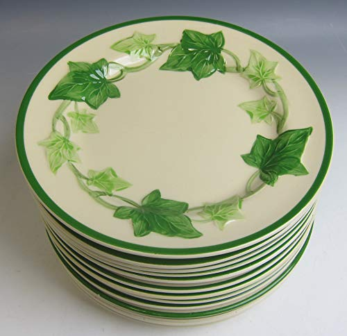 Lot of 13 Franciscan China IVY Bread & Butter Plates VERY GOOD
