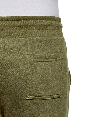 Con Pantaloni In Uomo Ultra Verde Maglia Coulisse 6600m Oodji Uw47q