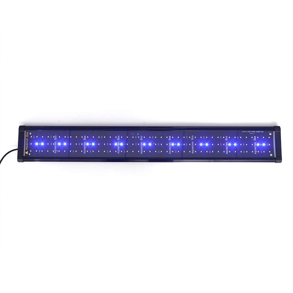 esclusivo ONEVER ONEVER ONEVER Illuminazione a LED Acquario Display a LED Acquario Illuminazione a LED per acquari piantumati Lampada a LED per acquari (90 cm, Blu)  basso prezzo del 40%